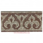 "Lane, Honed Mosaic Tile Listello 5.875"" x 12"""